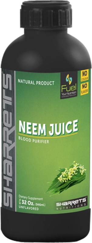 Sharrets Nutritions NEEM LEAF JUICE 946 ml