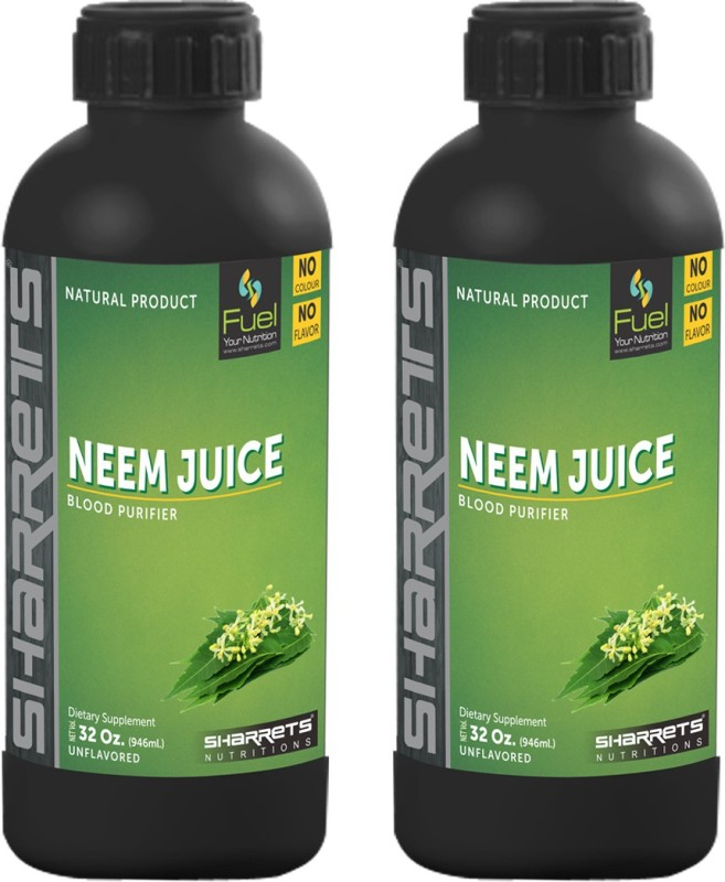 Sharrets Nutritions Neem Leaf Juice : PACK OF 2 1892 ml(Pack of 2)