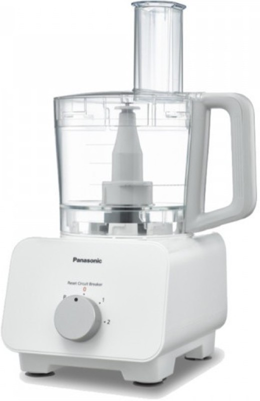 Panasonic MK-F300 1000 W Food Processor(white & Aluminium Dial)