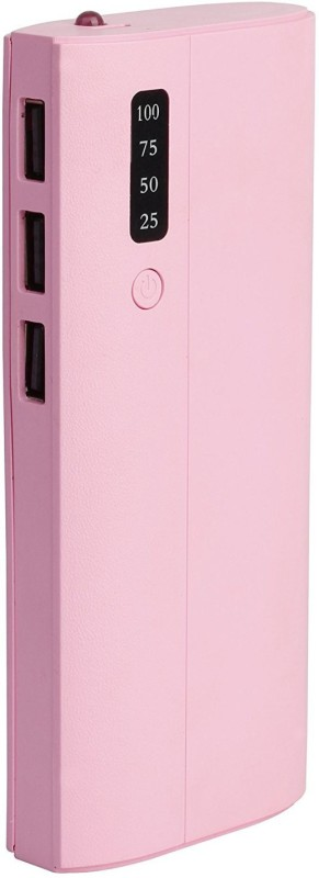 Zemi 10400 Power Bank (New P3, Good Back Up)(Pink, Lithium-ion)