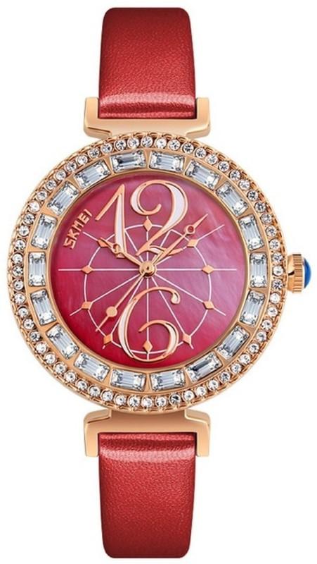 Skmei 9158 Red DUSK Watch - For Women
