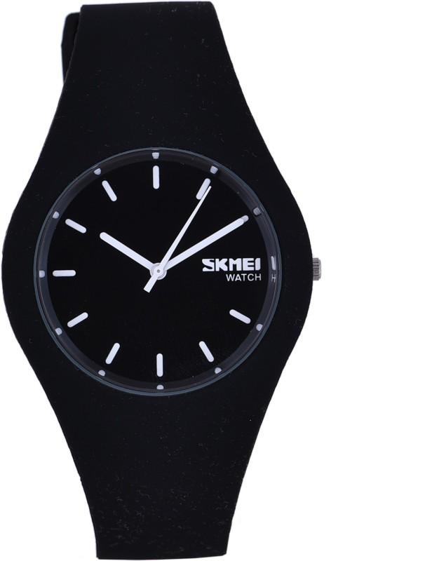 Skmei 9068 Black Dusk Stylish Watch - For Men & Women