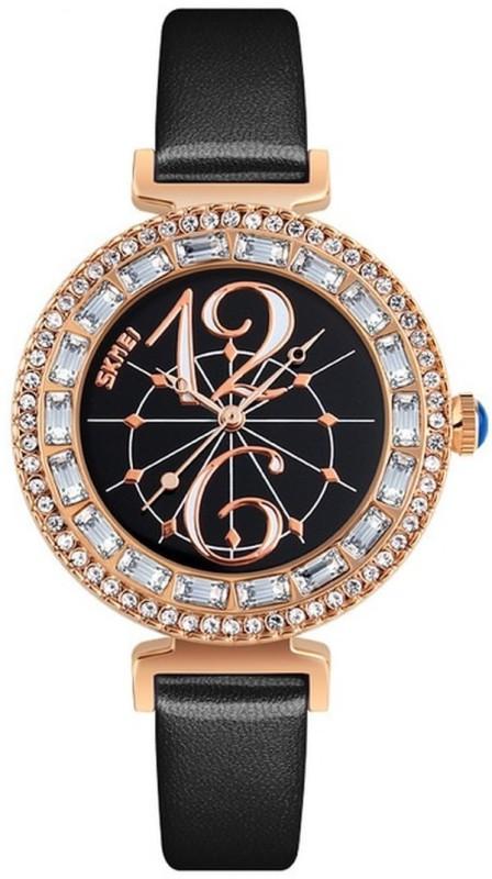 Skmei 9158 Black DUSK Watch - For Women