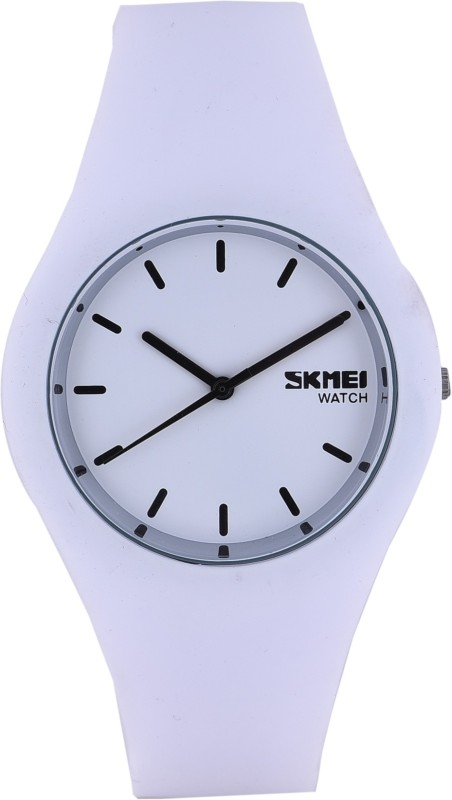 Skmei 9068 White Dusk Stylish Watch - For Men & Women