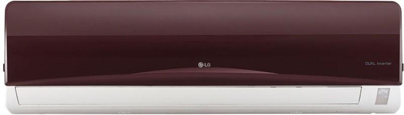 LG 1 Ton 3 Star BEE Rating 2018 Inverter AC - Nova Red(JS-Q12RUXA, Copper Condenser)