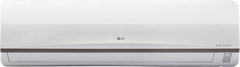 LG 1 Ton 3 Star BEE Rating 2018 Inverter AC - White(JS-Q12CPXD1, Copper Condenser)