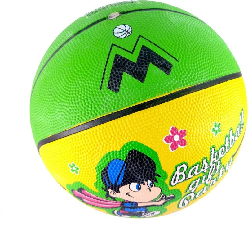 Elan 3-Green Basketball - Size: 3(Pack of 1, Green)