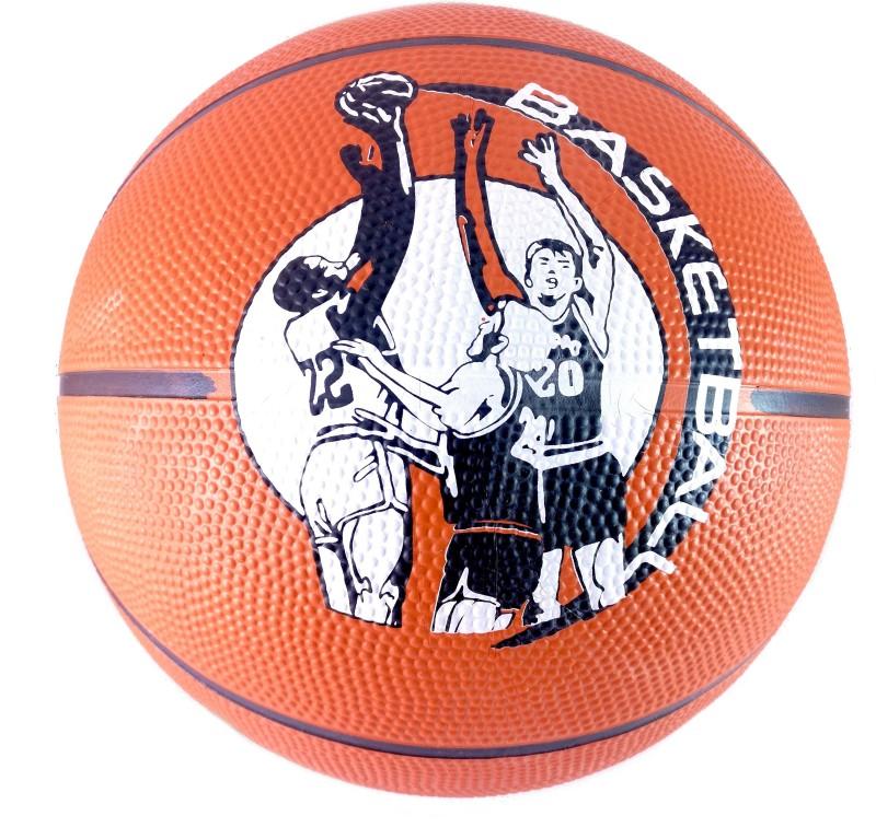 Elan 7-Orange Basketball - Size: 7(Pack of 1, Orange)