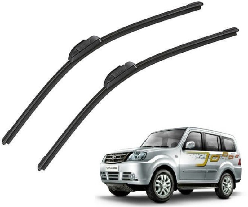 Mockhe Windshield Wiper For Tata Sumo Grande(Driver Side Wiper, Passenger Side Wiper Pack of 2)