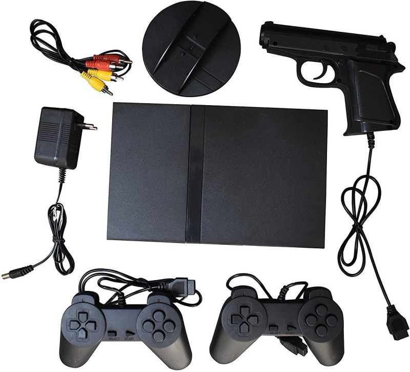 VK MART 12544 New Slim 2 Tv Video game with Contra(Black)