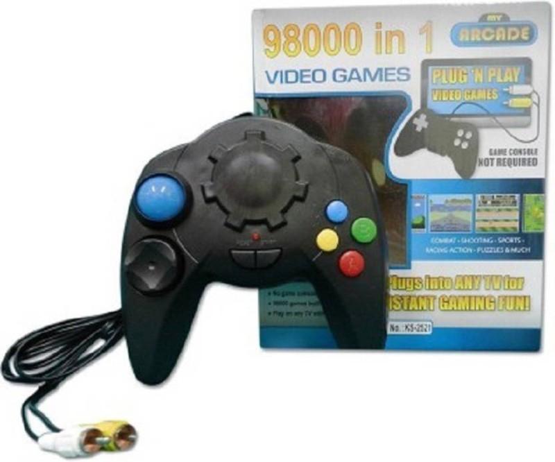 Balaji KS-2521 with 98000 tv video remort Handheld Gaming Console(black)