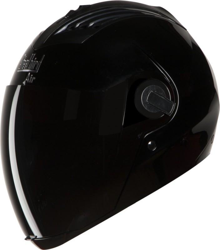 Steelbird AIR SBA-2 BLACK HAWK Motorbike Helmet(Black)