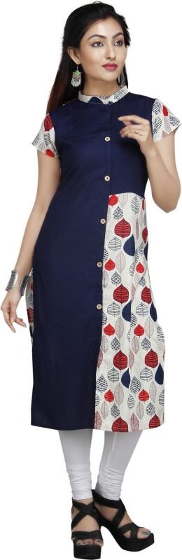 JAI BHOLENATH FASHIONS Festive & Party Embroidered Women Kurti(Multicolor)