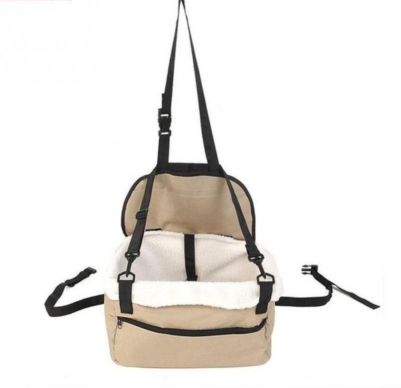Simxen SM-2141 Hammock Pet Seat Cover(Beige Waterproof)