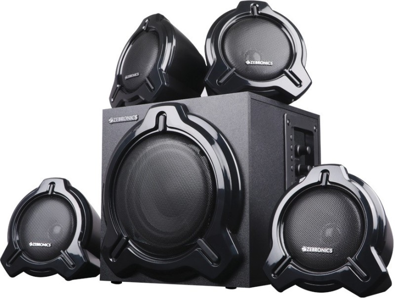Zebronics Electro 60 W Bluetooth Home Theatre(Black, 4.1 Channel)