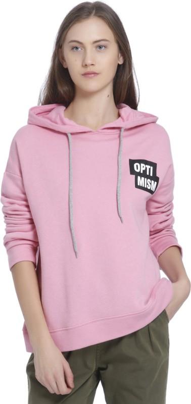 Vero Moda Full Sleeve Solid Women Sweatshirt