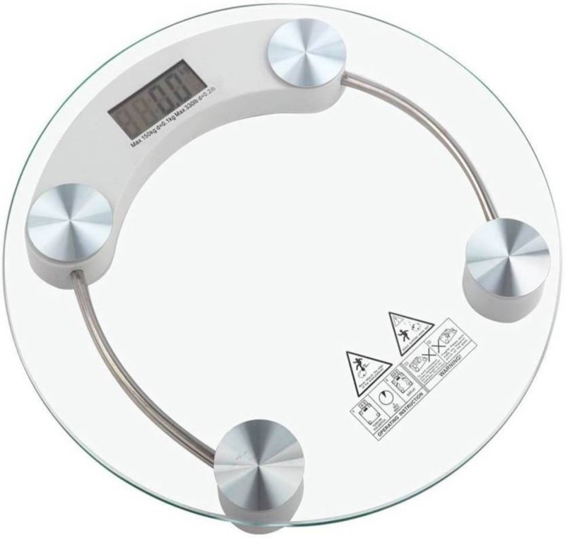 JM Roundweightmachine Weighing Scale (Clear) Weighing Scale(clear)