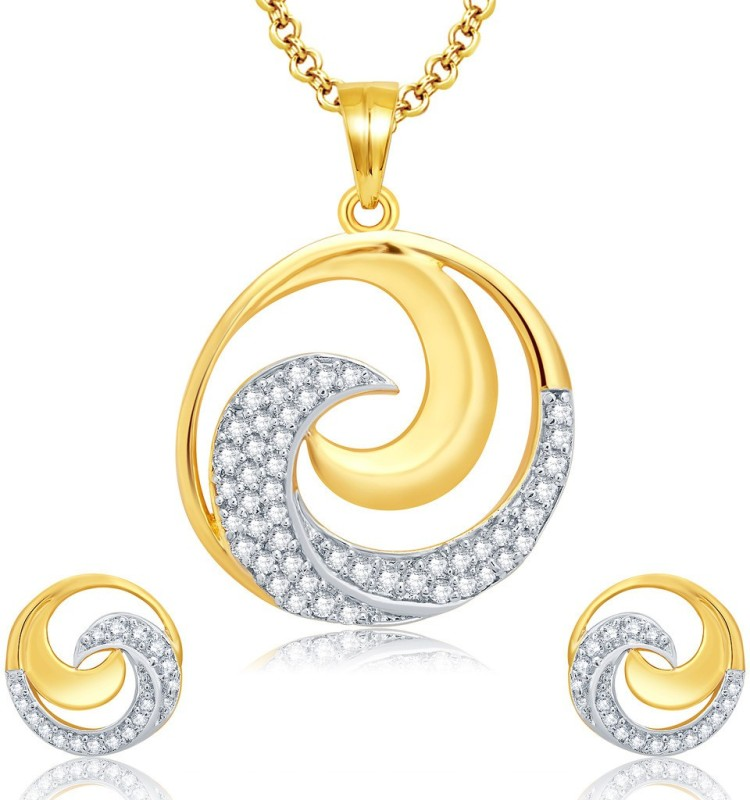 Sukkhi Alloy Jewel Set(Gold, White)