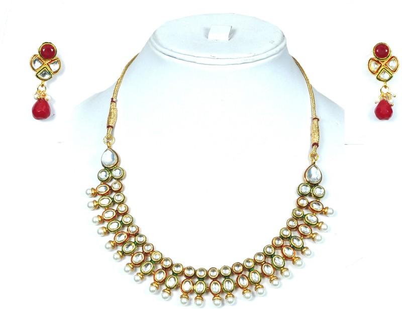 Shadi Bazaar Alloy Jewel Set(Multicolor)