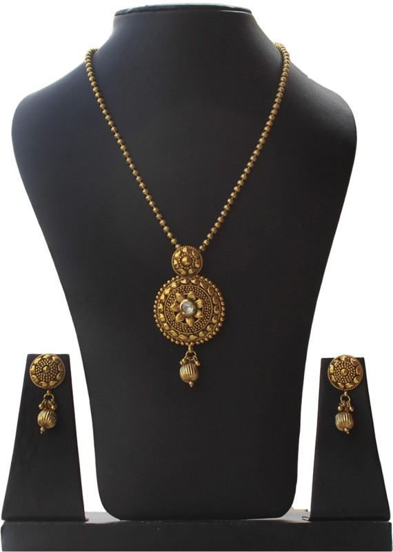 moKanc Copper Jewel Set(Gold)