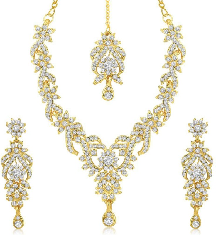 Sukkhi Zinc Jewel Set(Gold)