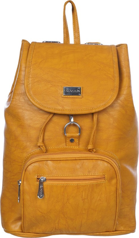 Rozen ROZ81-YLW 20 L Backpack(Yellow)