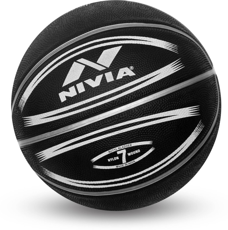 Nivia Europa Basketball - Size: 7(Pack of 1, Multicolor)
