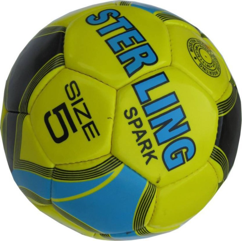Sterling SPARK Football - Size: 5(Pack of 1, Multicolor)