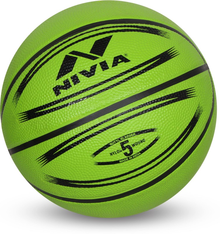 Nivia Europa Basketball - Size: 5(Pack of 1, Multicolor)