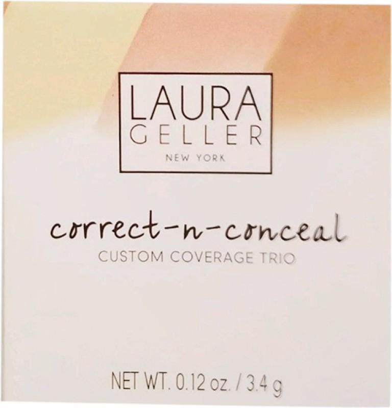 Laura Geller Correct-N Custom Coverage Trio Concealer(Medium)