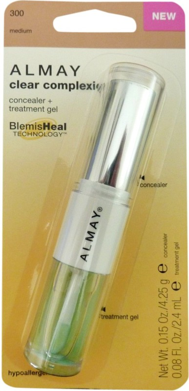 Almay Clear Complexion & Treatment Gel Concealer(Medium 300)