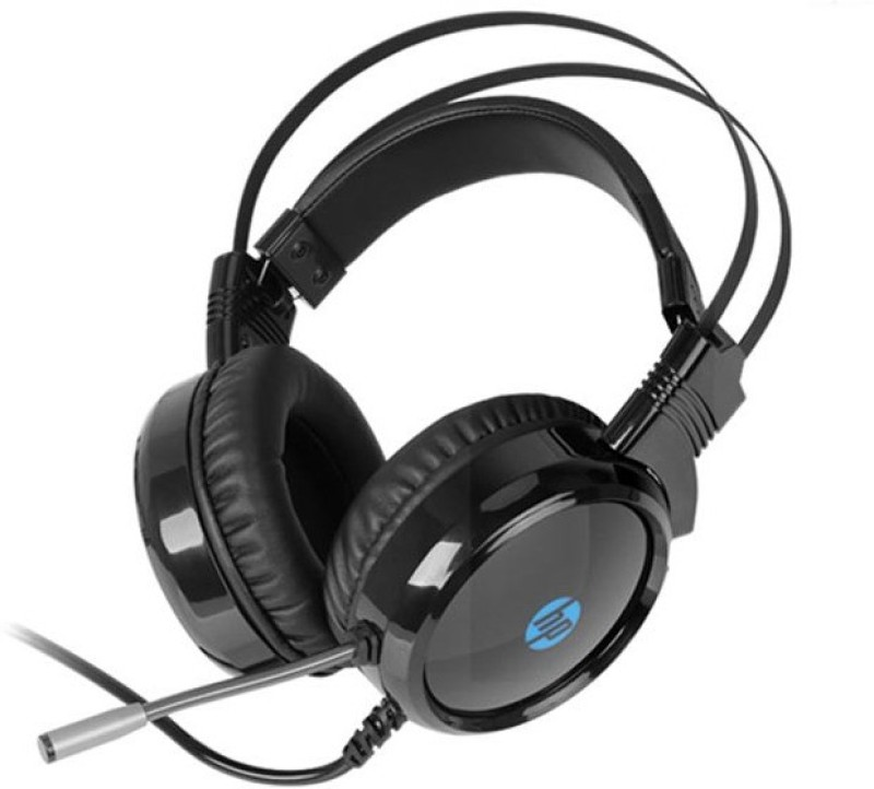 HP Wired Gaming with 3.5mm Jack And USB Wired Headset with Mic(Black, Over the Ear)