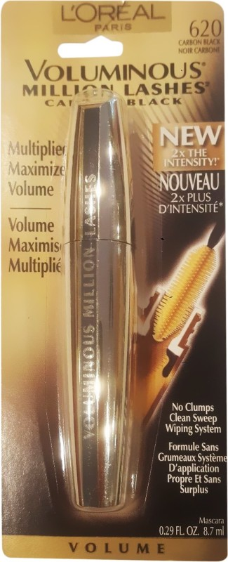 LOreal Voluminous Million Lashes 8.7 ml(Carbon Black 620)