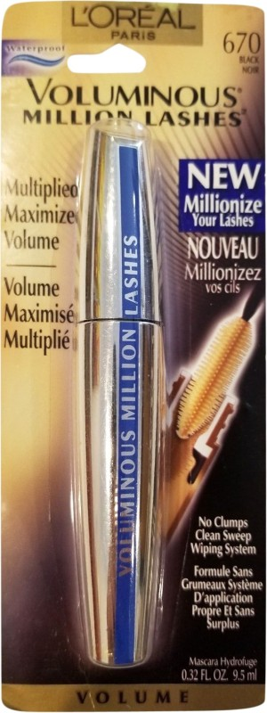 LOreal Voluminous Million Lashes 9.5 ml(Black)
