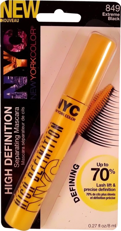 Nyc HIGH DEFINITION 8 ml(849 Extreme Black)