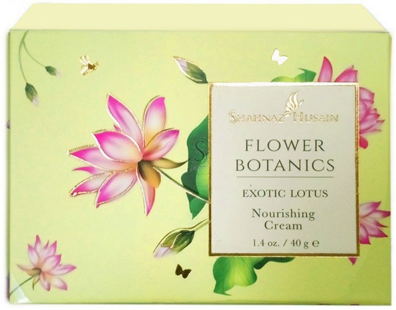 Shahnaz Husain Flower Botanics Exotic Lotus Nourishing Cream(40 g)