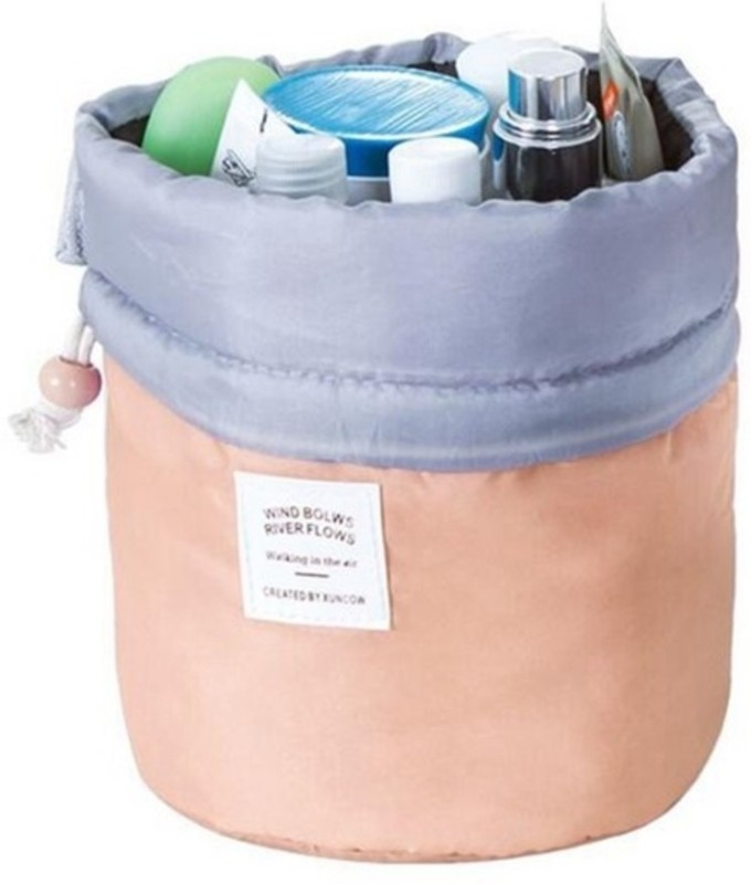 Swarish Travel Toiletry Cosmetic kit Organizer Bag Potli(Orange)