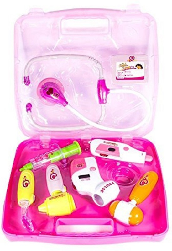 Clap N Tap My Family Operated Doctor Set Pink