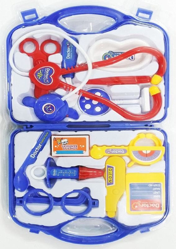 Clap N Tap My Family Operated Doctor Set 13 Pcs Kit For Kids