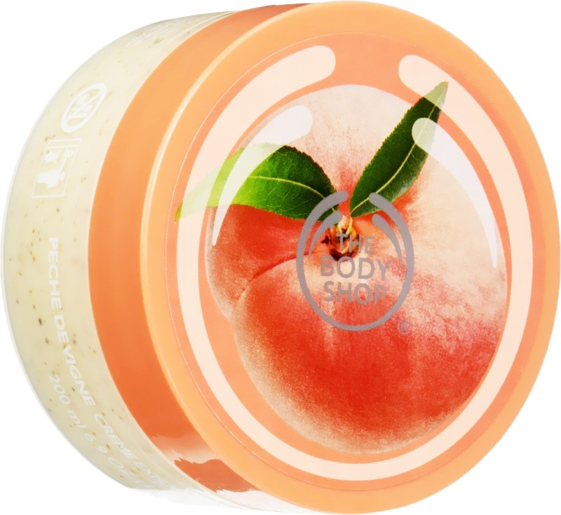 The Body Shop Vineyard Peach Scrub(200 ml)