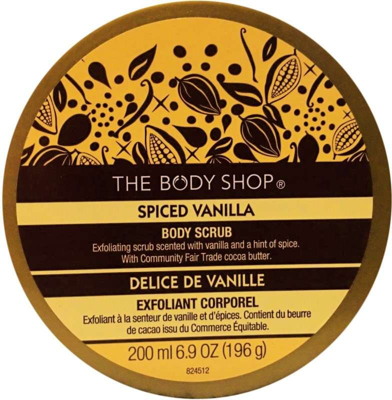 The Body Shop Spiced Vanilla Scrub(196 g)
