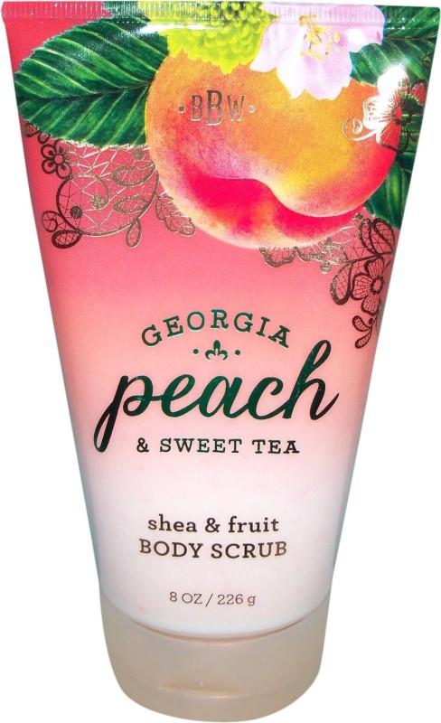 Bath & Body Works Georgia Peach & Sweet Tea Scrub(226 g)