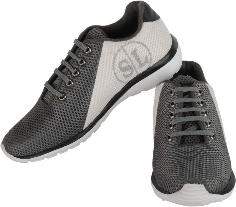 Stylobby SL_Grey_7 Running Shoes For Men(Grey)
