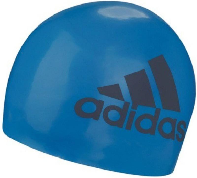ADIDAS SLI GRAPHIC Swimming Cap(Blue, Pack of 1)