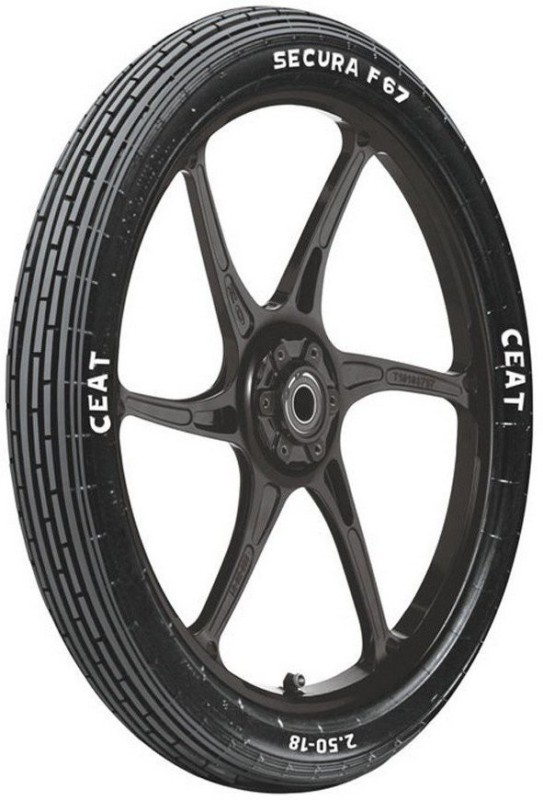 CEAT 100529 SECURA F67 3.25-19 Front Tyre(Street, Tube)