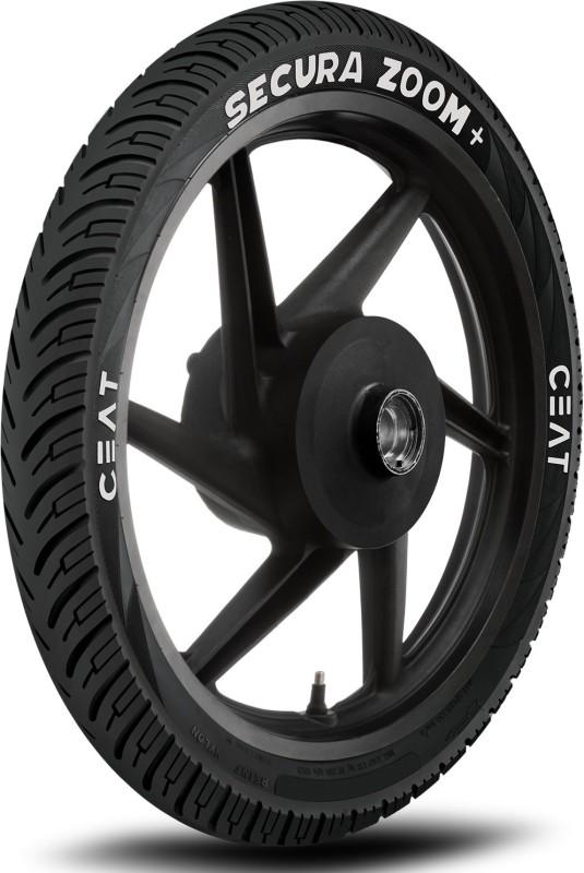 CEAT 101022 SECURA ZOOM+ 2.75-18 Rear Tyre(Street, Tube)