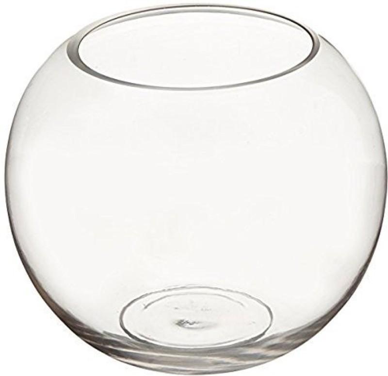 Fourwalls Glass Vase(20 inch, Clear)