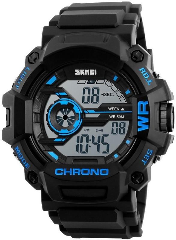 Skmei S-Shock Digital Multifunction Chronograph 50M Waterproof Boy's Watch image