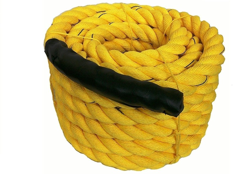 KTC PLASTIC Battle Rope(Length: 39 ft, Weight: 10 kg, Thickness: 1.9 inch)