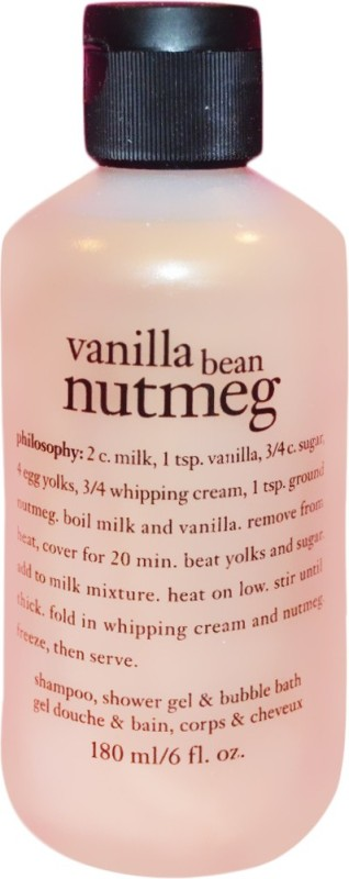 Philosophy Vanilla Bean Nutmeg(180 ml)